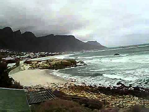 Timelapse Video – Glen Beach & Camps Bay – 31/08/2010