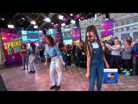 Syncopated Ladies Showcase Tap Dancing Skills Live on 'GMA'