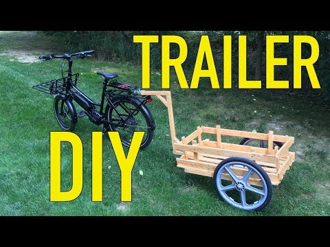 How to build a DIY trailer for a bicycle or e-bike!