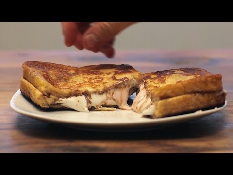 Nutella Marshmallow French Toast