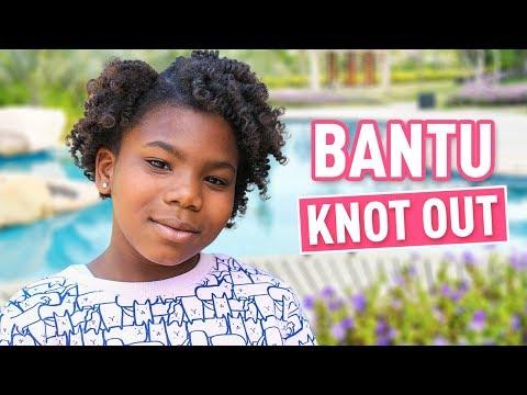 Bantu Knot Out Tutorial | No-Heat Curls