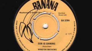 Sun Is Shining   Winston Matthews Banana   YouTube