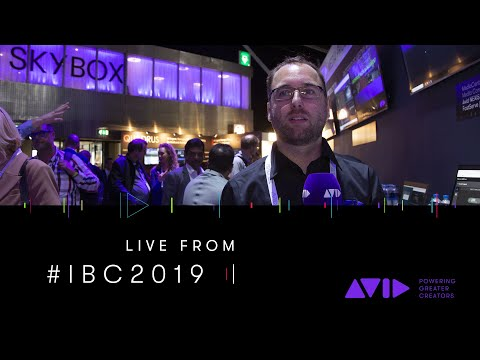 #AVID #IBC2019 ⏩ We're showing FastServe   Stream—powered by Haivision SRT Hub & Microsoft Azure
