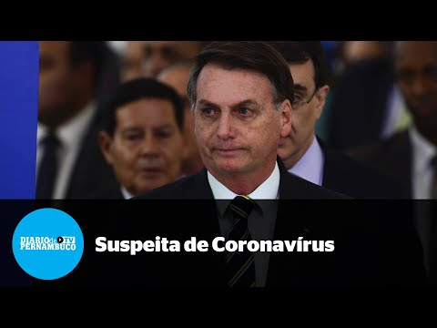 Bolsonaro apresenta sintomas de Covid-19 e faz teste