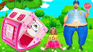 Sasha and Max sing Police song | Nursery Rhymes & Kids Songs