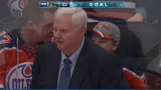 Karlsson scores from Karlsson. The dream.
