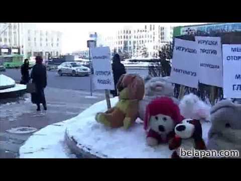 Våga, tycka, tala: Gosedjuren demonstrerar - förbud skapar kreativitet