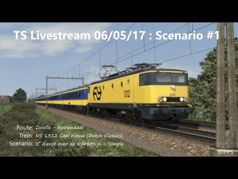 IC dienst over de schrootlijn - Simple (Livestream 06/05/17)