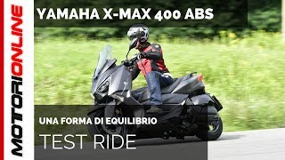 Yamaha X-MAX 400 ABS 2018   Test ride