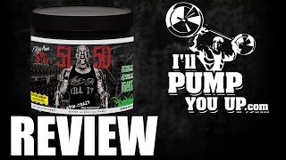 Rich Piana 5% Nutrition 5150 Stim Crazy Pre-Workout Supplement Review width=