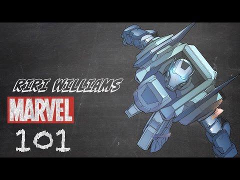Ironheart - Riri Williams - Marvel 101