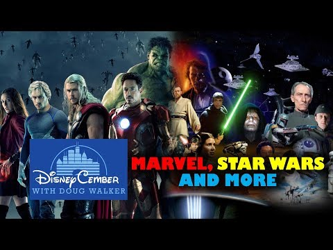 All Disney Marvel, Star Wars, and More - Disneycember