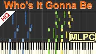 BgA - Who's It Gonna Be I Piano Tutorial & Sheets by MLPC