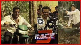 VIRAL VIDEO RACE 3: Salman Khan Stunt Video Launch On Remo D'souza Birthday - HUNGAMA