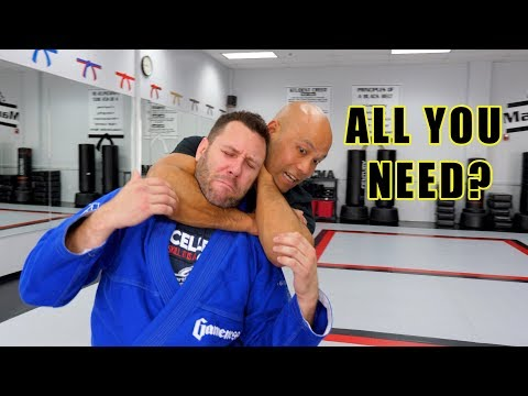 How do I avoid the Rear Choke | Wing Chun vs BJJ Brazilian Jiu jitsu