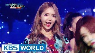 STELLAR - Crying   스텔라 - 펑펑 울었어 [Music Bank / 2016.08.19]