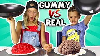 ALL GUMMY vs REAL IN ONE VIDEO!!!!!! width=