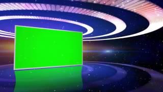 Efeito Progama de TV #2 - Slideshow #2 [Fundo Verde - Chroma Key]