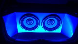 Subwoofer Boot LED's Test