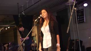 """Danielle Prou - live version of """"Much Too Late"""" from Lansing MI"""