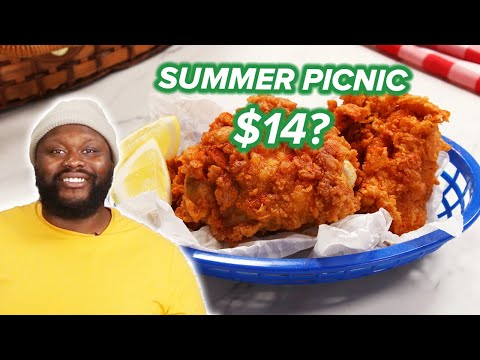 I Tried To Make A Picnic For 2 For $14 ? Tasty