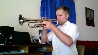 """Theme from """"Jurassic Park"""". Trumpet solo."""