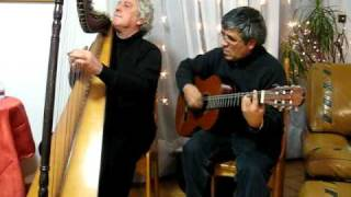 CASCADA (Jean Rambaudi y su arpa paraguaya)