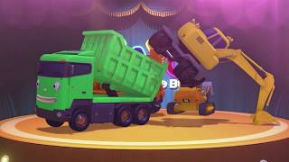 Strong Heavy Vehicles songs l The Strong Heavy Vehicles l Tayo's Sing Along Show 1