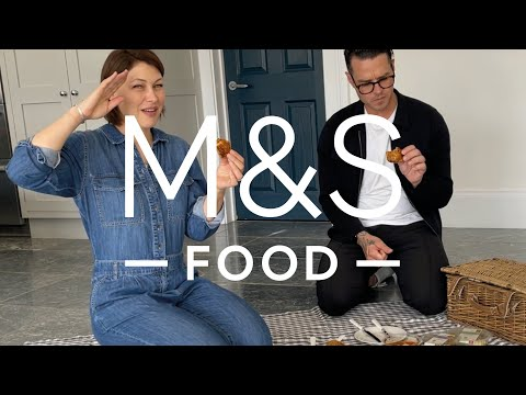 marksandspencer.com & Marks and Spencer Promo Code video: Emma Willis tries our EPIC picnic foodie treats | M&S FOOD