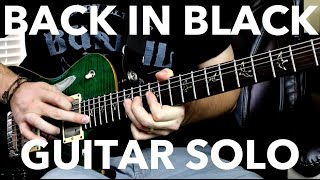 AC/DC – Back in Black (Guitar Solo Cover)