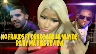Nicki Minaj Drops No Frauds Remy Ma Diss Review | DocHicksTv