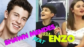 ENZO TAIS-TOI CHANTE du SHAWN MENDES 😎😂 [TREAT YOU BETTER]
