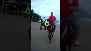 Kang Habibi dan Kang Nana berkuda