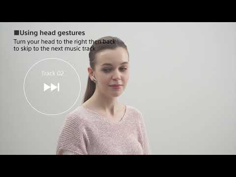 How to set up your new Xperia Ear Duo