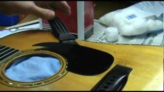 Luthier Tips du Jour - Pickguard Removal