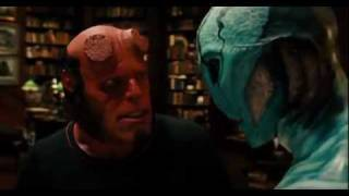 HELLBOY II - I can't smile without you