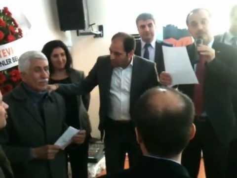 Haci Boğatekin-Lokman Çağrıcı Gersoyder burs töreni.wmv