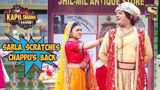 Chappu Asks Sarla To Scratch His Back - The Kapil Sharma Show width=