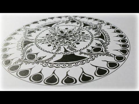 Zentangle Inspired Art #41