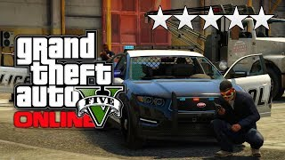 GTA 5 Online: How To Get An INSTANT 5 Star Wanted Level Tutorial! (GTA V)