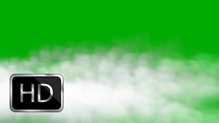 Free White Smoke Green Screen