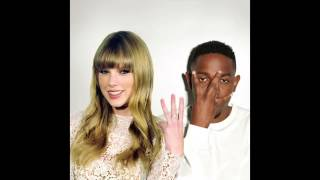 "Taylor Swift Kendrick Lamar ""Backseat Freestyle Shake it Off"" Mashup"