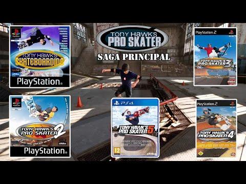 Saga principal Tony Hawk's Pro Skater (Del 1 al 5)   Repaso en directo