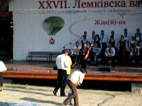 Lemko Vatra 2009-solo performance on stage