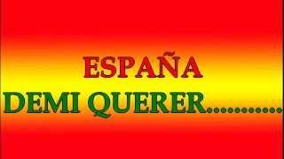 karaoke, Adios Mi España Querida -version Antonio Molina