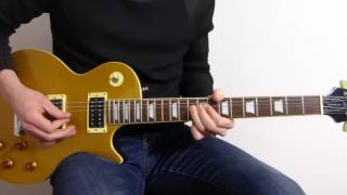 Guns N' Roses Wild Horses Cover - Paris 92 - Guitar Lesson