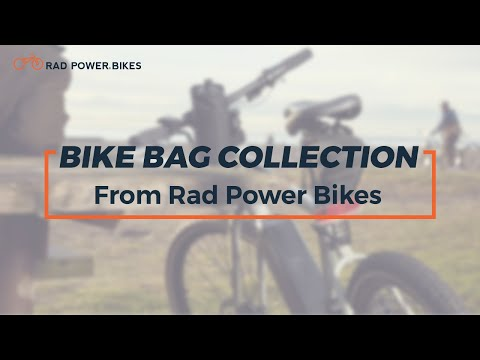 The Bike Bag Collection by Rad Power Bikes