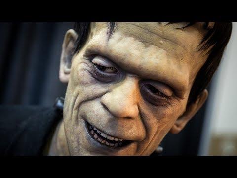Realistic Frankenstein Monster Sculpture!