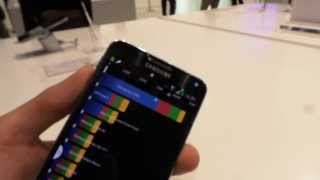 Samsung Galaxy Note 3 Neo Quadrant benchmark video | Tech2.hu