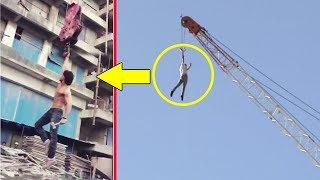 Tiger Shroff's Amazing Stunt On Crane For Baaghi 2 width=